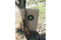 casual shooting - 30 yard target shooting right out of the box