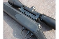 Left Showing Mount Screws - This is the supplied RWS scope mount for the 3-9 x 40 scope.