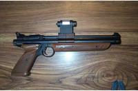 My Crosman1377 Old Model - Stock 1377c with addition of Crosman Laser sight