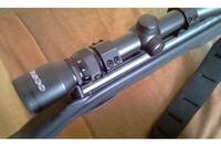"""Accessories - -Tasco 3-9x50mm -Accushot 1"""" Rings, Medium, 3/8"""" Dovetail, 4 Screws/Cap"""