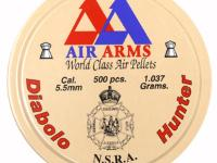 Air Arms Diabolo Hunter .22 Cal (5.50mm), 16 Grains, Pointed, 500ct