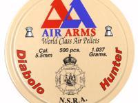 Air Arms Diabolo Hunter .22 Cal (5.50mm), 16 Grains, Pointed, 500ct