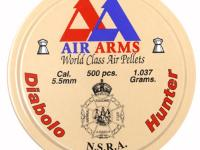 Air Arms Diabolo Hunter .22 Cal (5.52mm), 16 Grains, Pointed, 500ct