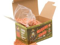 GameFace Game Face Verdict 6mm Biodegradable Marking Airsoft BBs, 0.20g, 5000 rds, Orange