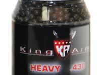 King Arms 6mm airsoft BBs, 0.43g, 2,000 rds, black