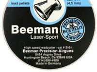 Beeman Laser Sport .177 Cal, 4.5mm, 8.09 Grains, Wadcutter, 200ct