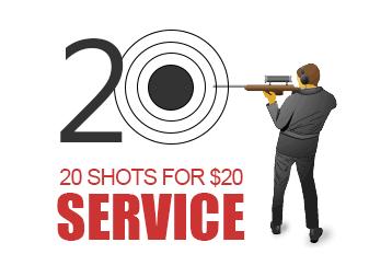 20-for-$20 Mount/Zero Scope!