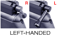Right-hand bolt moved