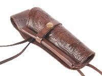 Hand-Tooled Leather Holster,, Image 5