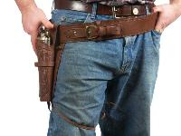 "Gun Belt, 30-34"", Image 6"