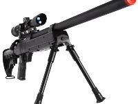 Echo1 A.S.R Sniper Rifle with optional Leapers Golden Image 4X32 TS F.S. Mil-dot Scope