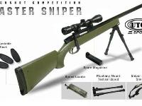 UTG Master Sniper Rifle with Swiss Arms 4x40 Scope (item # CG63862)