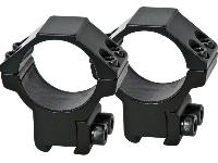 Special tape inside the rings keeps your scope tight without excessive clamp pressure!