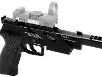 SIG Sauer P226 X5 Open with optional Swiss Arms Red Dot Sight