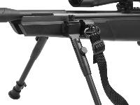 Includes Picatinny mount to attach to the Picatinny rail on the side of your Stoeger Arms ATAC Suppressor air rifle, swivel and sling loop. Web sling sold separately (STGR-90428[PY-A-4950]).