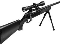 UTG Master Sniper Rifle with optional Full Size Swiss Arms 4x40 Scope (item# CG63862)