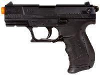 Walther P22 pistol, dispenser of 400 .12g BBs, magazine