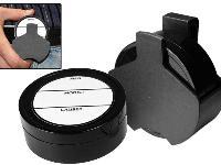 Air Venturi Pellet Holster, Attaches to Belt, Foam-Lined Pellet Tin, 4 Paper Labels
