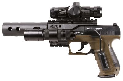 walther nighthawk co2 pistol military green frame air guns rh pyramydair com Walther Nighthawk Guide Walther Nighthawk Pellet Pistol Manual