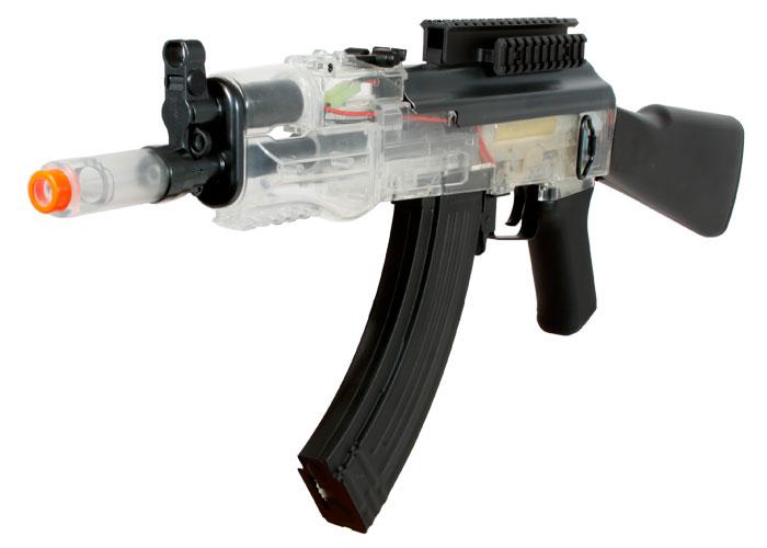 Crosman Pulse R76 Aeg Airsoft Rifle  Clear  Airsoft Guns