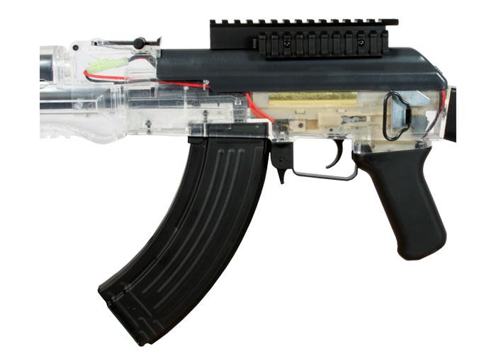 Crosman Pulse R76 Aeg Airsoft Rifle  Clear  Airsoft Gun