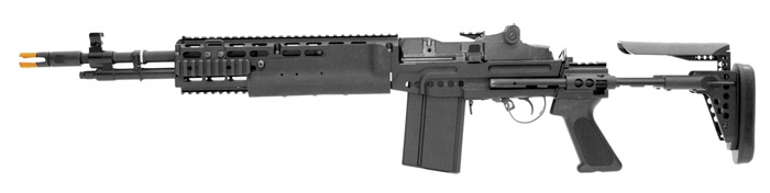 Airsoft, Classic Army, M14, EBR Scout, designated marksman rifle Airsoft AEG, Pyramyd Air