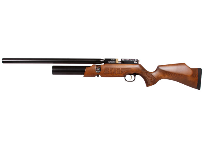 Cometa Lynx V10 PCP Air Rifle, Brown air rifle, 0.22 cal