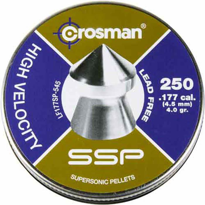 Crosman SSP .177 Cal, 4.0 Grains, Pointed, Lead-Free