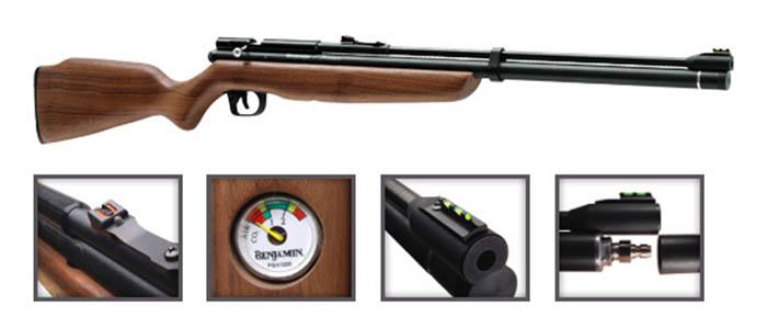 Venta de Benjamin Discovery con Bomba Cal. 5.5 Discovery_Gun_Only_1543zm