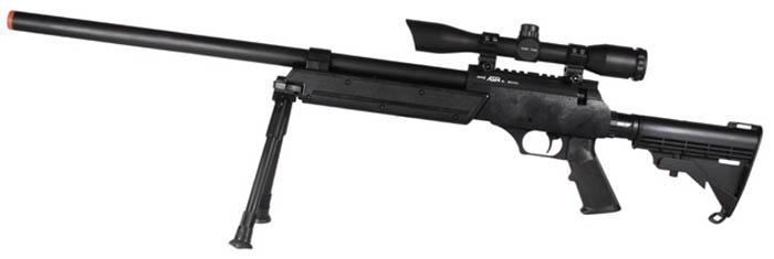 Airsoft, Echo1, ASR, Advanced Sniper Rifle, Airsoft Spring Sniper Rifle, Pyramyd Air