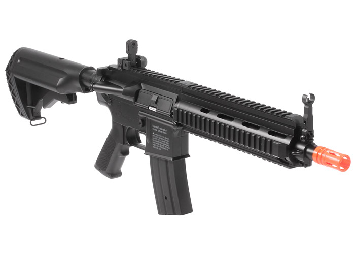 H&K 416 AEG Airsoft Rifle Black Battery & Charger Included