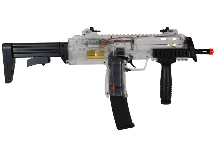 h k mp7 aeg airsoft submachine gun clear officially licensed replica. Black Bedroom Furniture Sets. Home Design Ideas