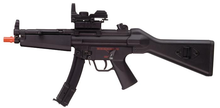 Heckler & Koch H&K MP5 Airsoft Submachine Gun, 500-Rd Mag ...