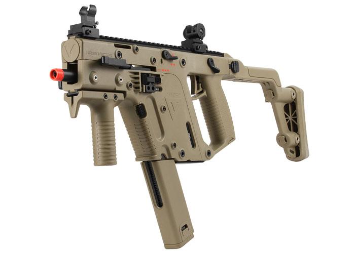 Kwa Kriss Vector Gbb Airsoft Submachine Gun Tan Airsoft Guns