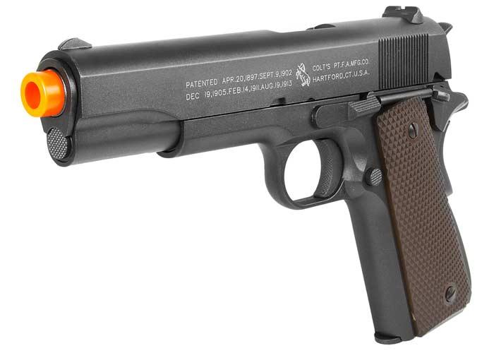 Colt 1911 CO2 Blowback Airsoft Pistol, Full Metal. Airsoft guns