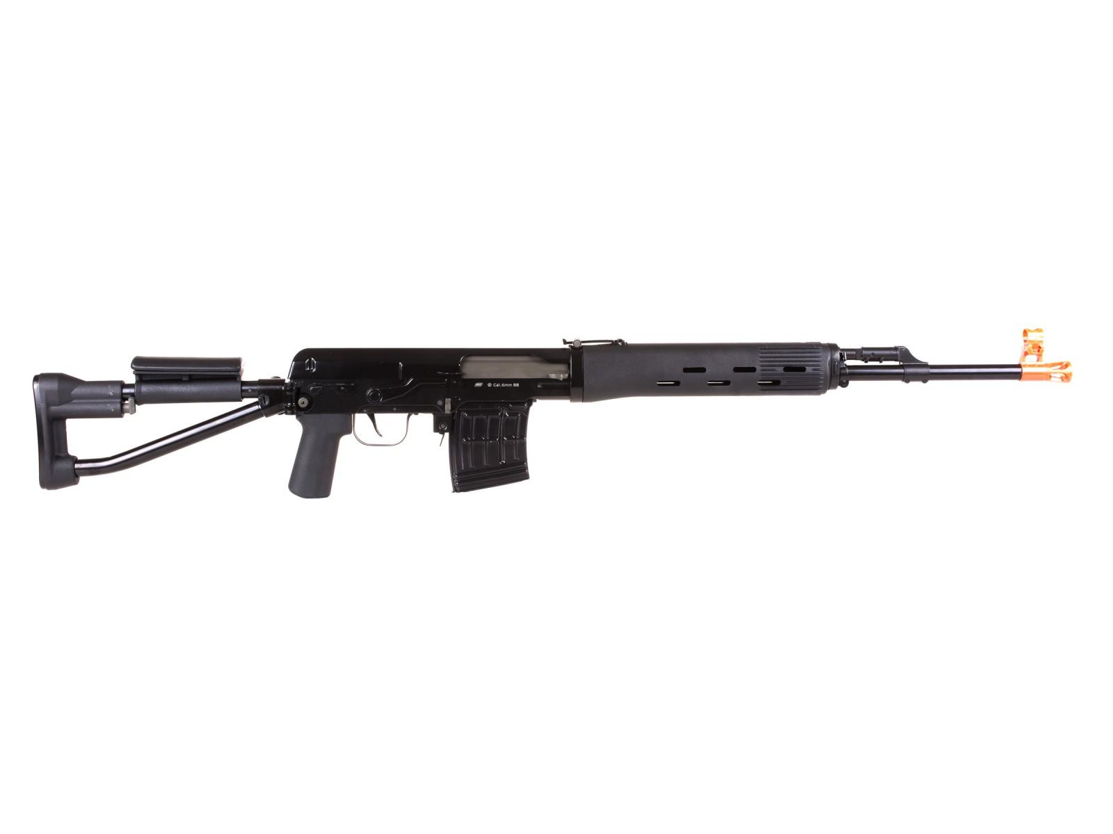 ASG Dragunov Sniper Spring SVD-S Airsoft Rifle Licensed ...