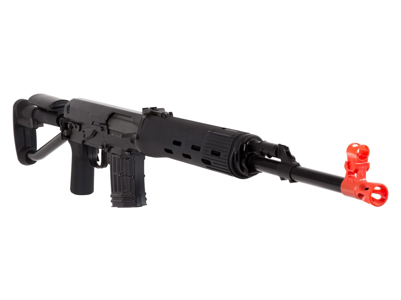 ASG Dragunov Sniper Spring SVD-S Airsoft Rifle. Airsoft guns