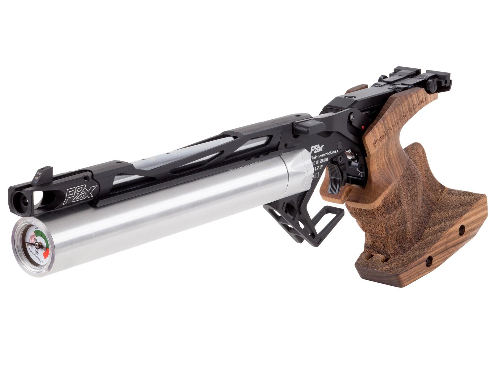0.177 cal  Precharged Pneumatic Feinwerkbau P8X PCP 10-meter Air Pistol