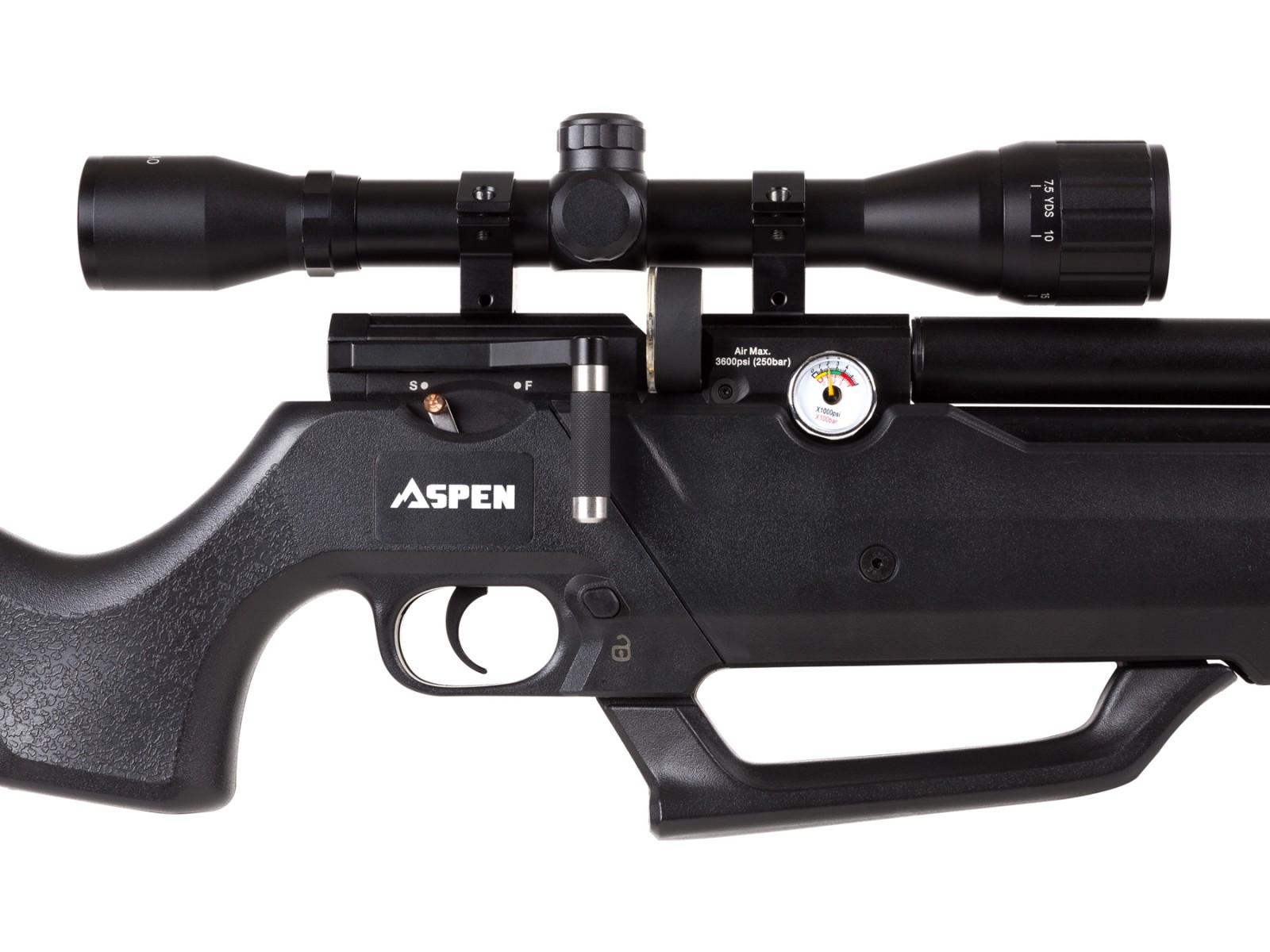 Details about Seneca Aspen PCP Air Rifle - 0 22 cal Seneca Aspen Air Rifle
