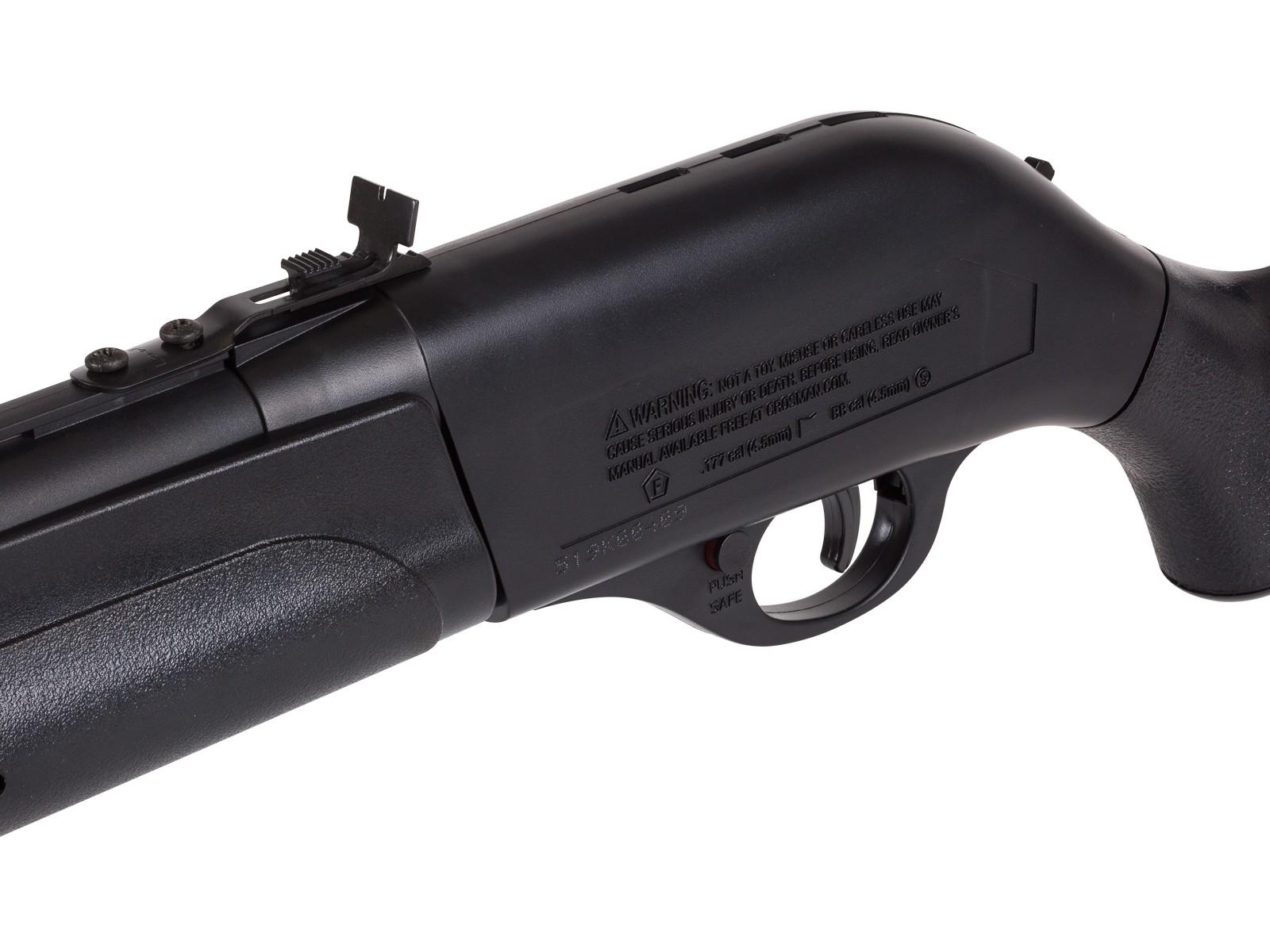 Remington R1100 Single-Shot 1100 177-Caliber And BB Air Rifle Variable Pump Black for sale online