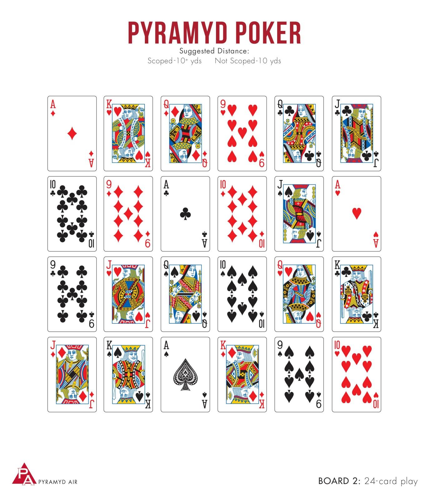 Poker boards
