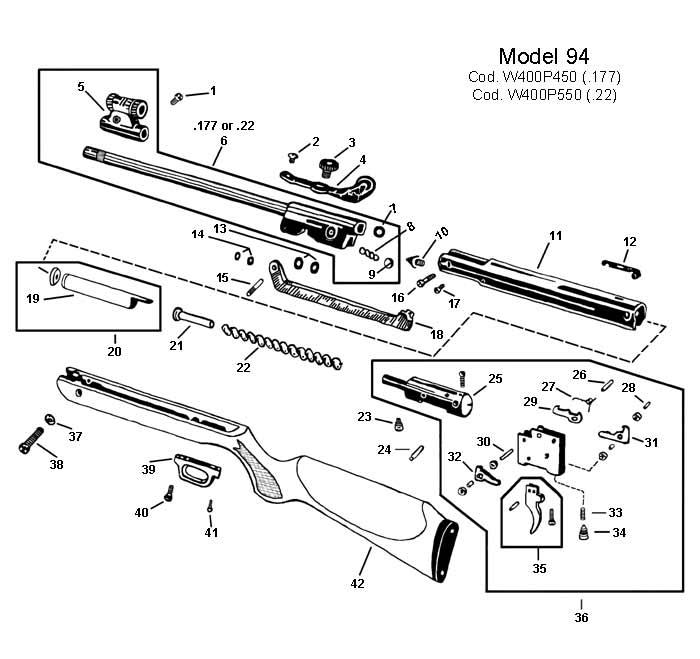 rws tube  fits model 94  rws  u0026 umarex