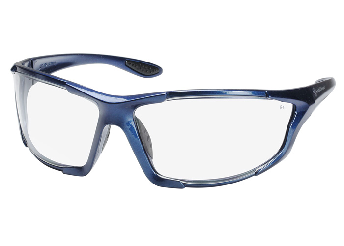 smith wesson smith wesson safety glasses blue frame