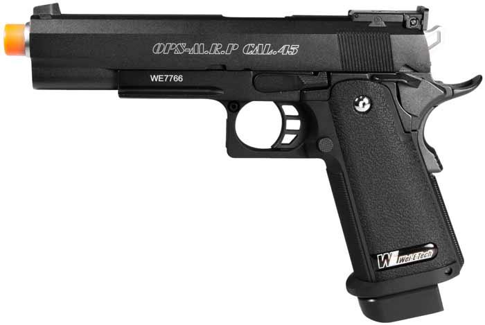 we-hi-capa-gas-blow-back-pistol, Airsoft gas pistols, Custom Airsoft GBBP, Pyramyd Airsoft Blog,