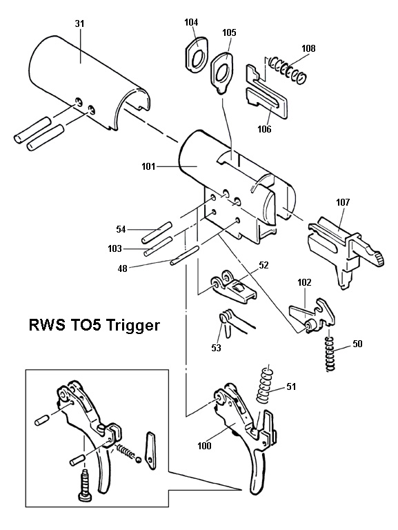 rws  diana model t05 trigger schematic